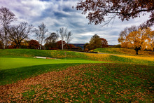 Autumn In The Golf Course