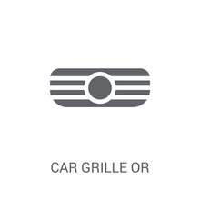 Car Grille Or Radiator Grille ...