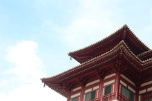 Chinese Temple Roofs