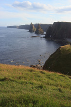 Duncansby Head At John O Groats, Scotland, Great Britain