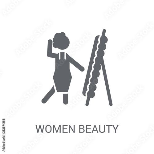 Obraz na plátně  Women Beauty icon