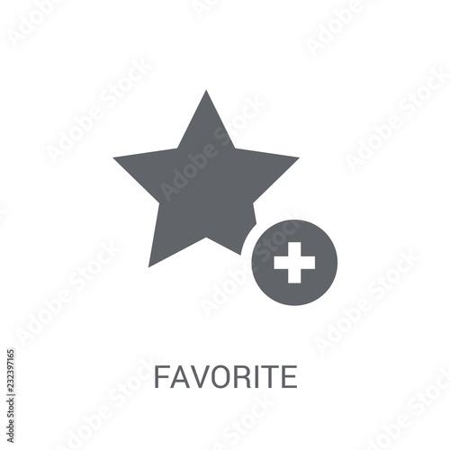 Fotografie, Obraz  Favorite icon