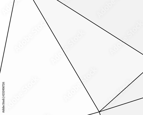 Photo Asymmetrical texture with random chaotic lines, abstract geometric pattern