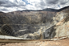 Open Pit Mine, Utah, United St...