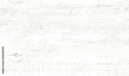 Türaufkleber Holz White wood pattern and texture background.