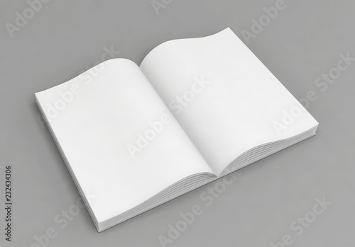 Livre Blanc Ouvert Buy This Stock Illustration And Explore