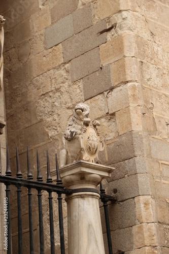 Fotografía  Estatua Catedral De Toledo