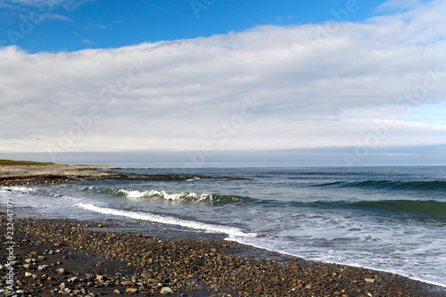 Poster Kust rocky beach north of the Arctic Sea