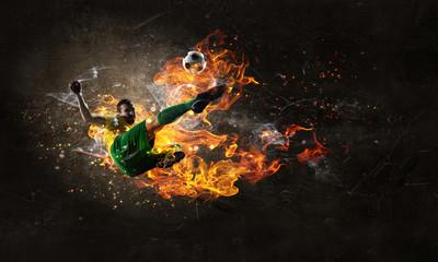 Fototapeta Game hottest moments