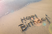 Happy Birthday! Message Handwr...