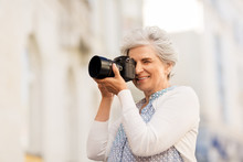 Old Age, Photography And Peopl...