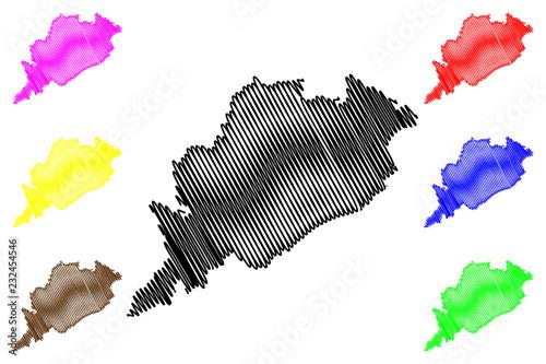 Fotografie, Obraz  Odisha (States and union territories of India, Federated states, Republic of Ind
