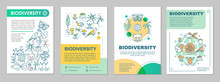 Biodiversity Brochure Template Layout