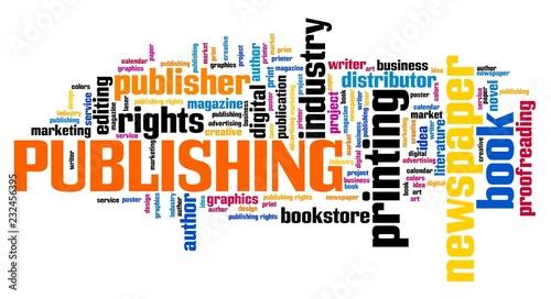 Fotografía  Publishing word cloud