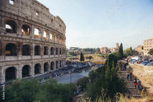 Foto auf Gartenposter Rom Colosseum in Rome. Italy