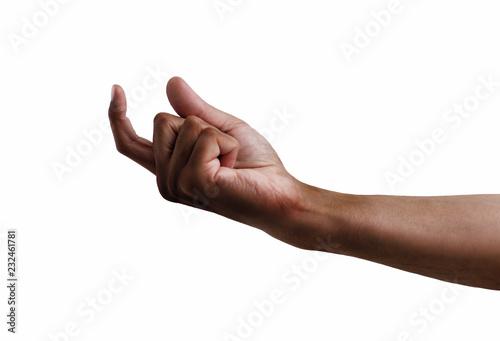 Photo  hand symbol