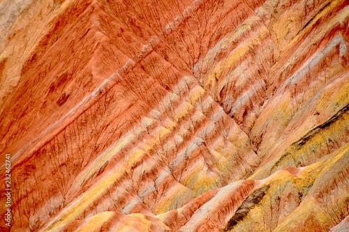 Papiers peints Corail Danxia National Geological Park en Zhangye, China
