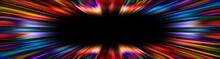 Colorful Starburst Explosion Banner