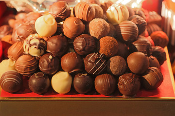 Fototapeta Chocolate Praline