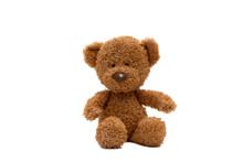 Teddy Bear Isolated On White B...