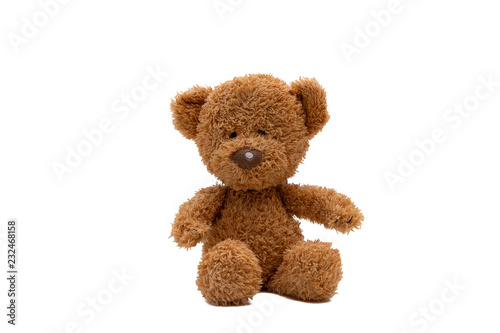 Fotografía teddy bear isolated on white background