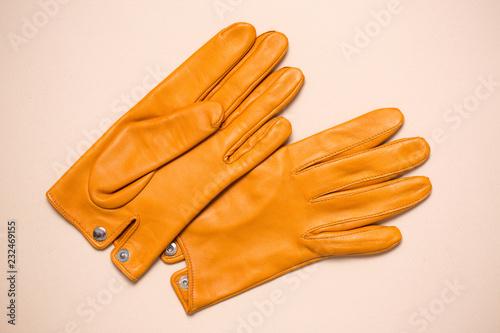 Obraz na plátne  gloves with buttons