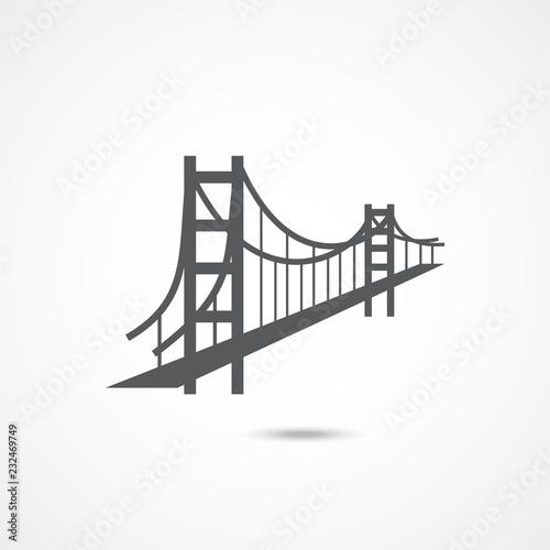 Photo Golden Gate Bridge Icon