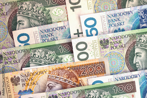 Fotografía  Polish zloty national currency