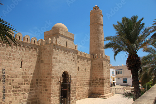 Walls of the Medina in Sousse, Tunisia