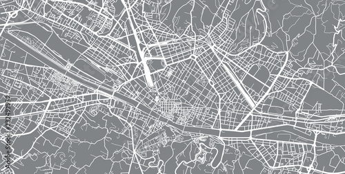 Florence Italy City Map