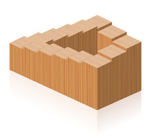 Penrose Steps. Optical Illusio...