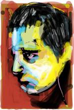 Portrait Of A Sade Man