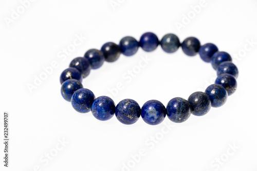 Canvas Print The lapis lazuli Stone Bracelet