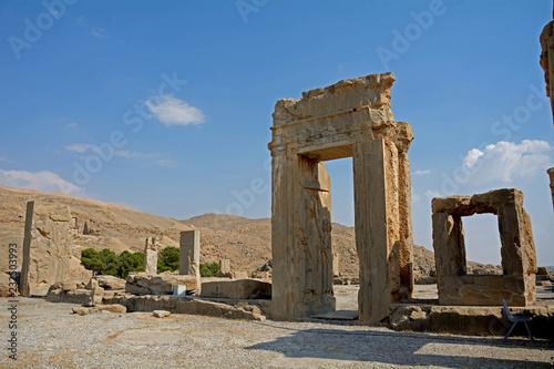 Poster Algerije Ruinsof the ancient Persian capital city of Persepolis, Iran