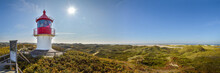 Panorama Kleiner Leuchttum Auf Insel Amrum