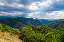 Panoramic Top View Of Troodos ...