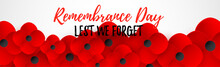 Remembrance Day Web Header. Le...