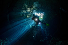 Cenotes Cave Diving In Mexico