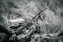 The Machine Gun Of The German ...