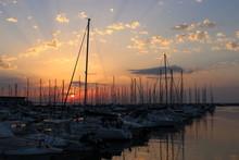 Tramonto Ad Ancona