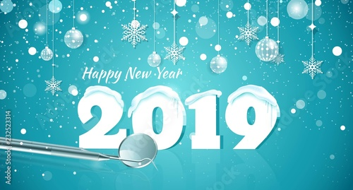 Image result for happy 2019 new year dental