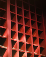 Red Abstract Light And Pattern