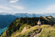 Exploring Swiss Alp