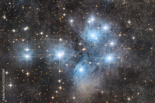 The Pleiades cluster