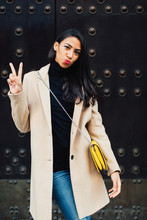 Stylish Woman In The City.