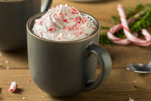 Sweet Peppermint Hot Coffee