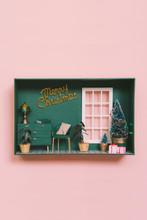 Dollhouse With Christmas Decor...