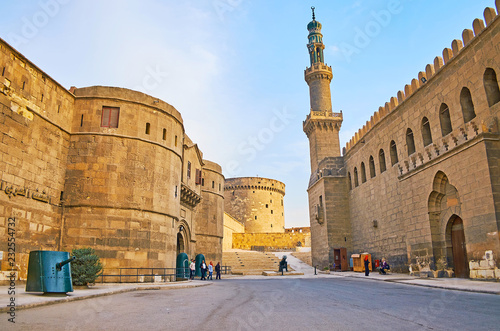 Obraz na płótnie Explore Cairo Citadel, Egypt