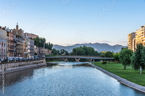 Bridge over the Segre river. Balaguer LLeida Spain