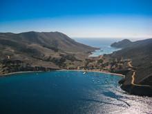 Two Harbors Catalina Island Ariel